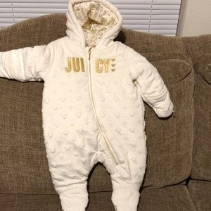 Juicy couture 3/6 months one price suit